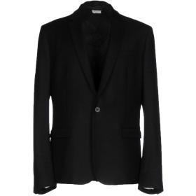 《期間限定 セール開催中》PAOLO PECORA メンズ テーラードジャケット ブラック 46 バージンウール 97% / ポリウレタン 3%