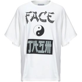 《セール開催中》FACETASM メンズ T シャツ ホワイト 00 コットン 100%