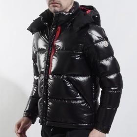 モンクレール MONCLER フード付き ダウンジャケット MARLION ブラック メンズ marlioz-4137185-68950-999