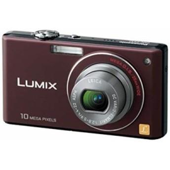 【中古 良品】 Panasonic デジタルカメラ LUMIX (ルミックス) FX37 ショコ