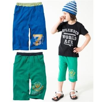 カットソーハーフパンツ2枚組(男の子 子供服) パンツ
