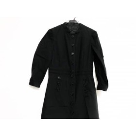 【中古】 マークジェイコブス MARC JACOBS ワンピース サイズ6 M レディース 黒 シャツワンピ