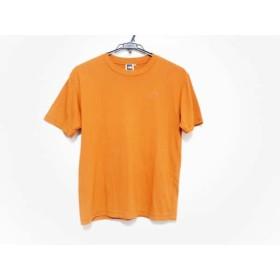 【中古】 ノースフェイス THE NORTH FACE 半袖Tシャツ サイズS メンズ 美品 オレンジ TEK TEE