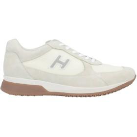 《期間限定セール開催中!》HOGAN メンズ スニーカー&テニスシューズ(ローカット) アイボリー 5.5 革 / 紡績繊維
