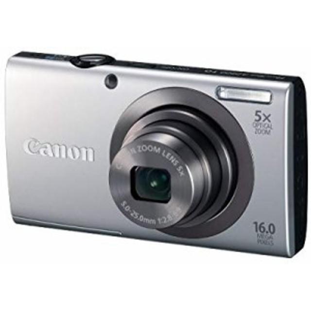 【中古 良品】 Canon デジタルカメラ PowerShot A2300 シルバー 光学5倍ズ