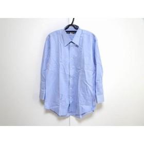 【中古】 バーバリーズ Burberry's 長袖シャツ サイズ41-78 メンズ ブルー