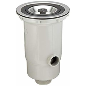 【新品】 三栄水栓 【キッチン用流し排水栓DW】 BL仕様流し台二槽シンク用