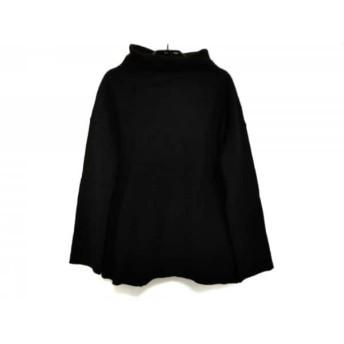 【中古】 アンテプリマ ANTEPRIMA 長袖セーター サイズ42 M レディース 黒 ハイネック