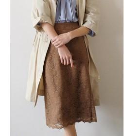 INED イネド レースタイトスカート