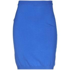 《期間限定セール開催中!》MOSCHINO レディース ひざ丈スカート ブライトブルー 42 バージンウール 100%