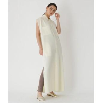 DRESSTERIOR(Ladies)(ドレステリア(レディース)) ◆AURALEE(オーラリー)スーパーファインメリノウールハイゲージリブニットドレス
