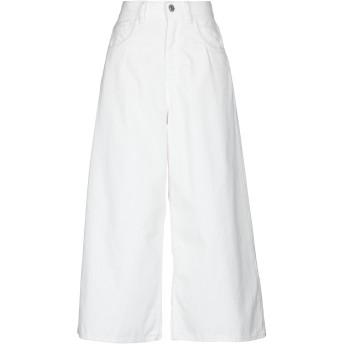 《セール開催中》HAIKURE レディース パンツ ホワイト 27 コットン 100%