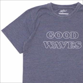 (新品)WTW(ダブルティー) GOOD WAVES TEE (Tシャツ) NAVY 200-007877-047x【新品】(半袖Tシャツ)