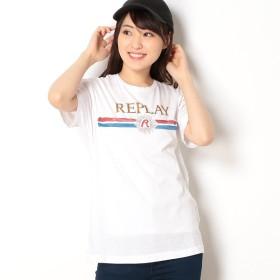 [マルイ]【セール】ガーメントダイドライトコットンジャージーTシャツ/REPLAY(REPLAY)