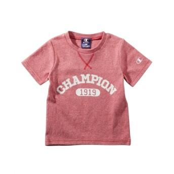 Champion(チャンピオン) 杢調メッシュ風半袖Tシャツ(男の子。女の子 子供服) Tシャツ・カットソー