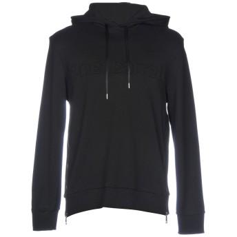 《9/20まで! 限定セール開催中》NEIL BARRETT メンズ スウェットシャツ ブラック S コットン 100%