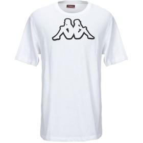 《期間限定セール開催中!》KAPPA メンズ T シャツ ホワイト XL コットン 100%