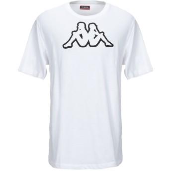 《セール開催中》KAPPA メンズ T シャツ ホワイト XL コットン 100%