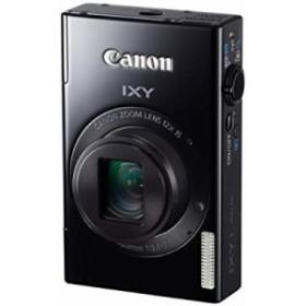 【中古 良品】 Canon デジタルカメラ IXY 1 ブラック 光学12倍ズーム Wi-Fi