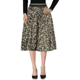 《セール開催中》KAOS JEANS レディース 7分丈スカート ミリタリーグリーン 42 ポリエステル 53% / コットン 36% / アクリル 8% / 指定外繊維 3%