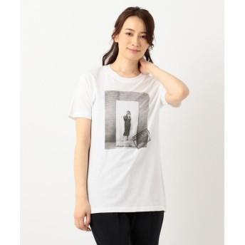 エニィスィス RobertaBayleyフォト Tシャツ レディース ホワイト系 2 【any SiS】