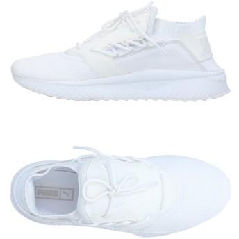 《セール開催中》PUMA メンズ スニーカー&テニスシューズ(ローカット) ホワイト 7.5 紡績繊維