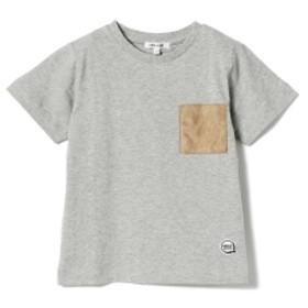 B:MING by BEAMS / フェイクスエード ポケットTシャツ 19SS キッズ Tシャツ T.GREY 140