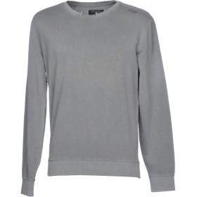 《期間限定セール中》GUESS メンズ スウェットシャツ グレー S 95% コットン 5% ポリウレタン