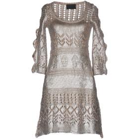 《セール開催中》PHILIPP PLEIN レディース ミニワンピース&ドレス ベージュ XL コットン 100%