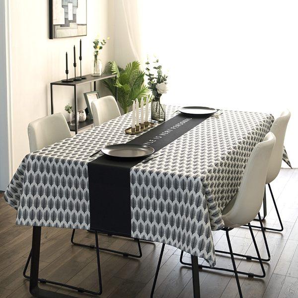 時尚可愛空間餐桌布 茶几布 隔熱墊 鍋墊 杯墊 餐桌巾669  (100*140cm)