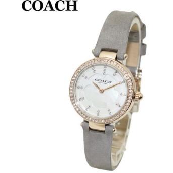 コーチ 腕時計 レディース 14503104 COACH PARK パーク ゴールド/グレー レザー 時計 ウォッチ