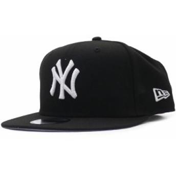 ニューエラ NEW ERA ニューヨークヤンキース 9FIFTY CAP キャップ 帽子 BLACK ブラック 黒 メンズ 999005903011 ヘッドウェア