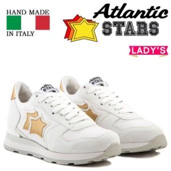アトランティックスターズ Atlantic STARS スニーカー レディース ベガ VEGA ホワイト BO-86B