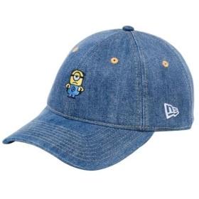 ニューエラ(NEWERA) キャップ 9THIRTY ミニオン メル ミニロゴ 930 DM MINIONS MEL M ウォッシュドデニム 11909190 帽子 日よけ アクセサリー カジュアル