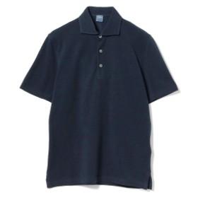 FEDELI / ショートスリーブ カノコポロシャツ メンズ ポロシャツ NAVY/4 50