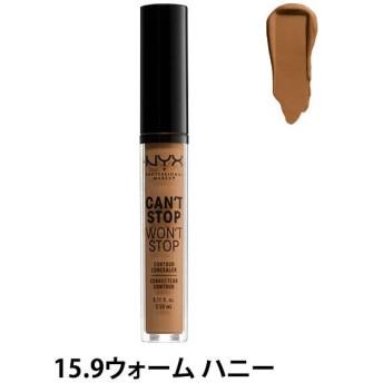 NYX Professional Makeup(ニックス) キャントストップ ウォントストップ コントゥアー コンシーラー 15.9 カラー・ウォーム ハニー