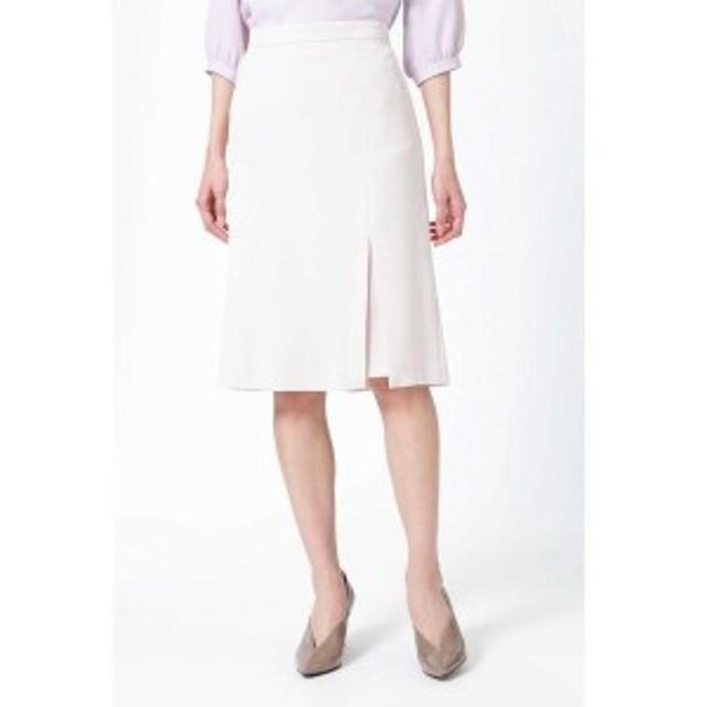 ナチュラルビューティー(NATURAL BEAUTY)/ナンナストレッチAラインスリットスカート