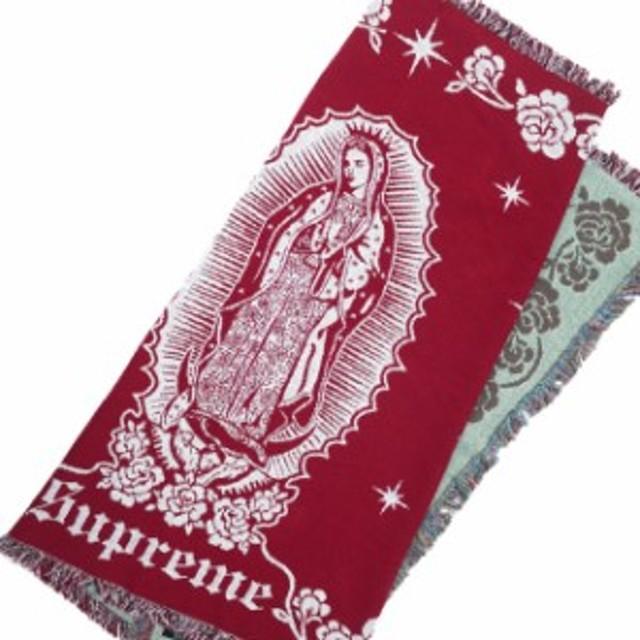 18b57dcf33d8 (2019新作)シュプリーム SUPREME Virgin Mary Blanket ブランケット RED レッド メンズ レディース 【新品