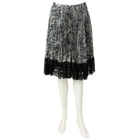 TO BE CHIC / トゥー ビー シック ツイードプリントプリーツスカート