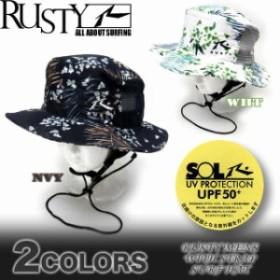 d0a71abb470e6 メンズ サーフハット 帽子 RUSTY ラスティー ビーチハット サーフブランド UPF50+ 918903 通販 LINEポイント最大1.0%GET