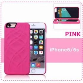 76d53f4c6d 送料無料☆iPhone 6/6S ピンク ケース ミラー カードケース 便利 かわいい シンプル アイフォン