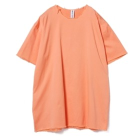 ASHLEY ROWE / コットンツイル ショートドレス◎ メンズ Tシャツ ORANGE ONE SIZE