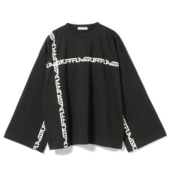 F-LAGSTUF-F / Big Line Long Sleeve Tee メンズ Tシャツ BLACK L