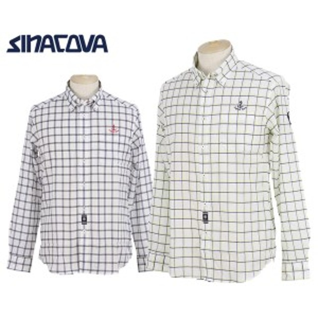 efcad2acf85a53 カジュアルシャツ メンズ シナコバ ポルトフィーノ SINACOVA PORTOFINO 2019 春夏 新作 ゴルフウェア