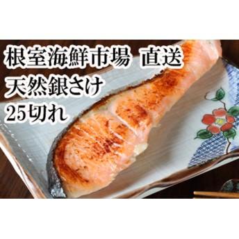 銀鮭5切れ×5P 根室海鮮市場[直送]