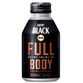 UCC BLACK無糖 FULL BODY COFFEE 275g×24本入り (1ケース) (MS)