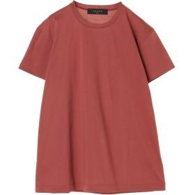 SACRA SACRA/サクラ コンパクト ファインコットン クルーネック Tシャツ・カットソー,ASH PINK