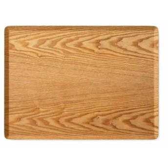 すべりにくい木製トレー L ナチュラル ホームコーディ L 漆器・木製食器