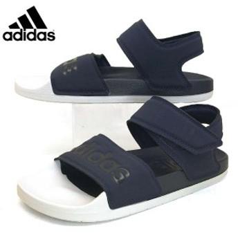 アディダス adidas ADILETTE SANDAL 35415 アディレッタ サンダル 紺白 レディース/メンズ