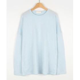 Tシャツ - NOWiSTYLE MICHYEORA(ミチョラ)ソフトデイリーTシャツ韓国韓国ファッション トップス 長袖 カットソー カラバリ Tシャツ ベーシック カジュアル